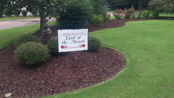 One of our residential clients was voted Yard Of The Month!