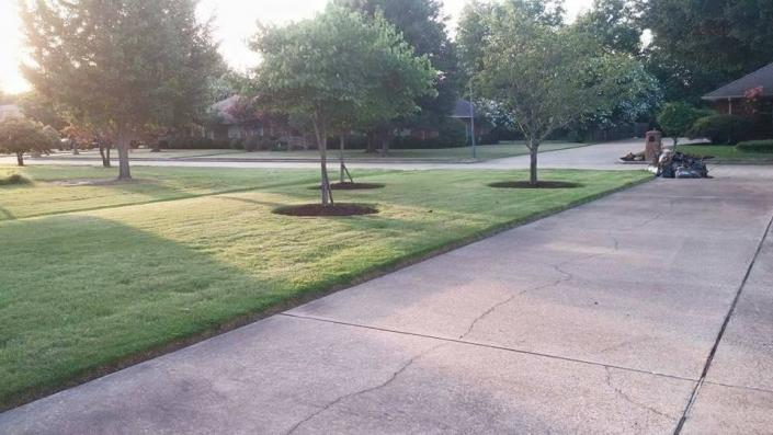 We help keep your lawn beautiful and neat with our lawn care services!