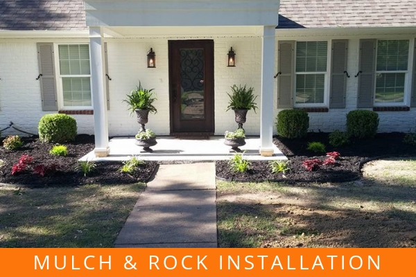 Mulch & Rock Installation