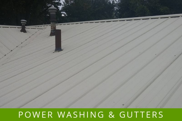 Power washing and gutter cleaning services