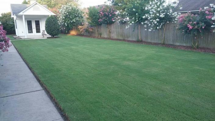 Let us mow your lawn on a weekly or bi-weekly basis! ]
