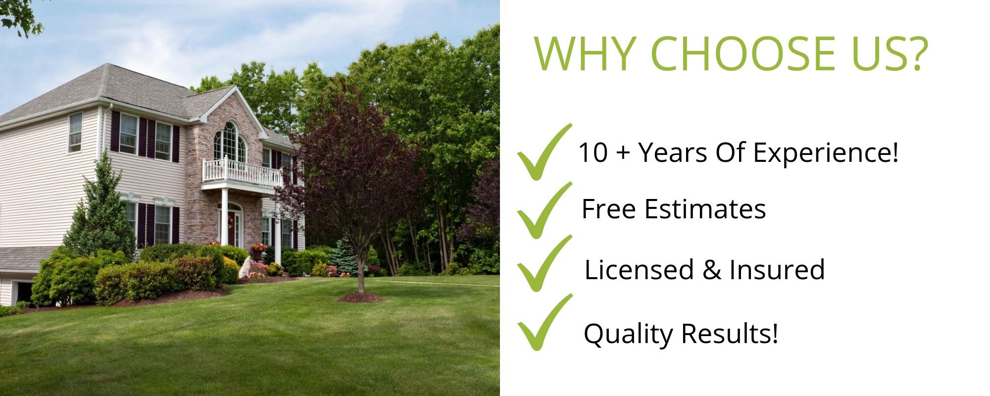 Reason to choose Wierzba for lawn care services!